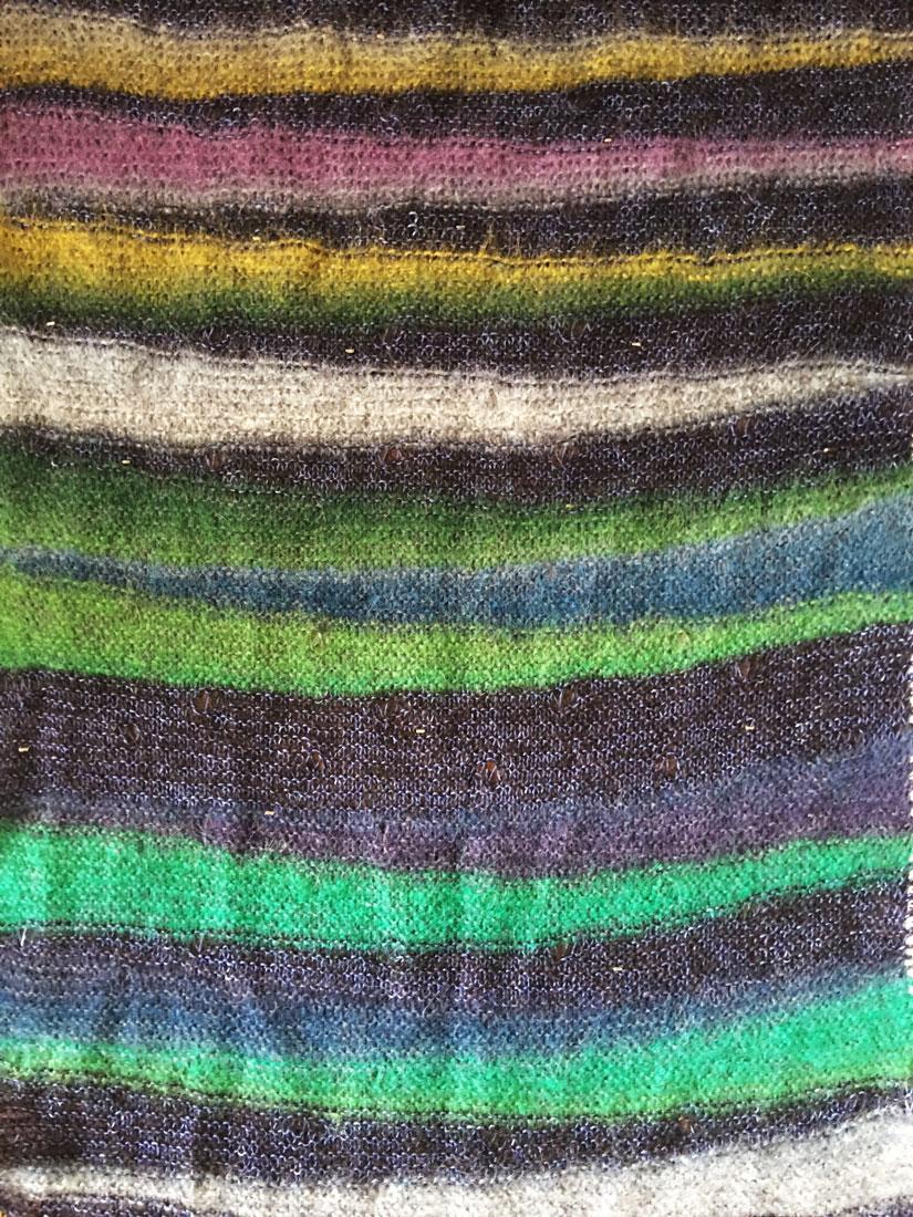 knitting, mariannekarkki, shawl, aurora borealis